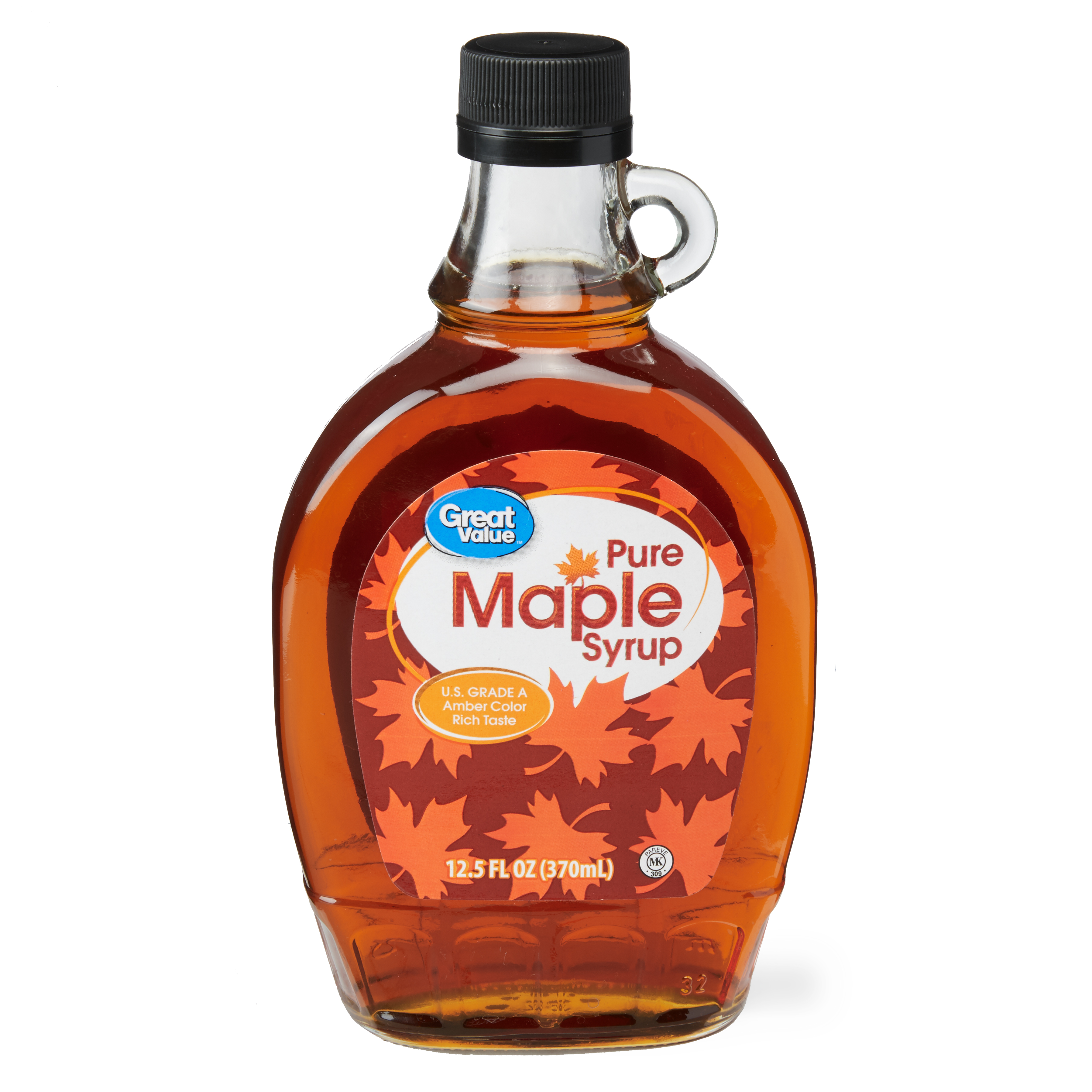 Great Value Pure Maple Syrup, 12.5 fl oz