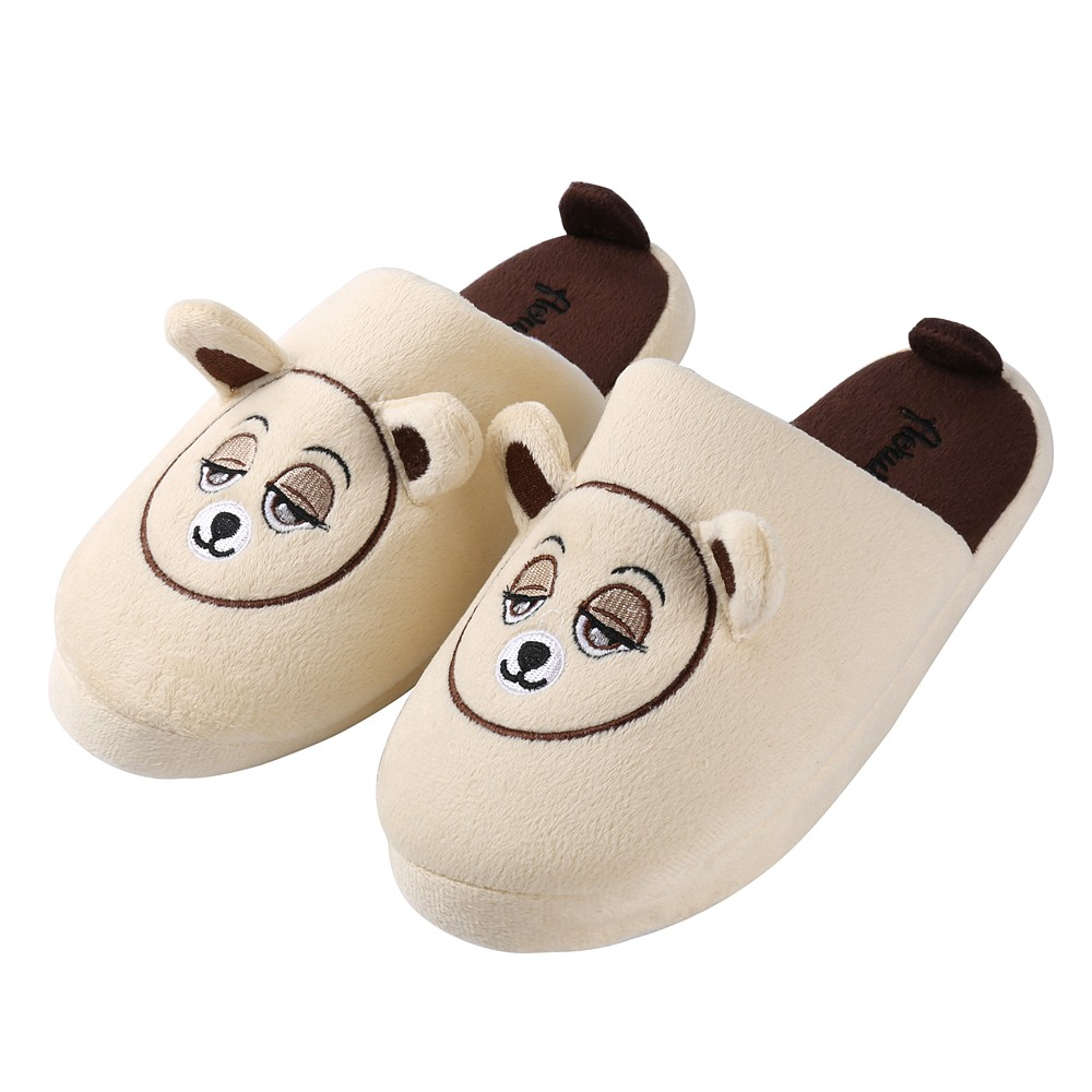 Aerusi Adult Itsy Teddy Bear Indoor Slippers