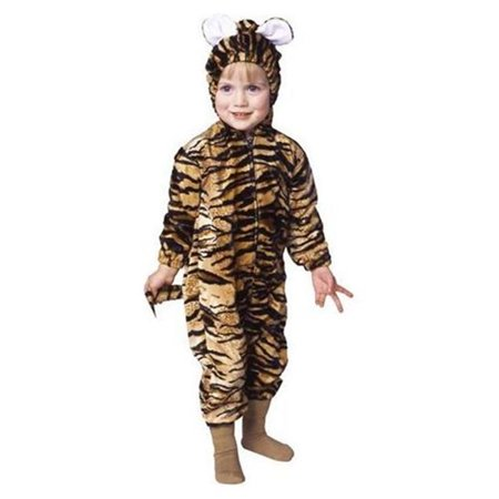 Tiger Costume For Kids (Toddler Tiger Pajama Velboa)
