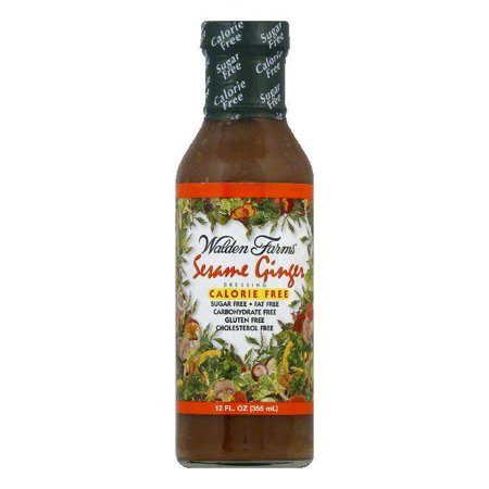 Walden Farms Sesame Dressing, 12 OZ (Pack of 6)