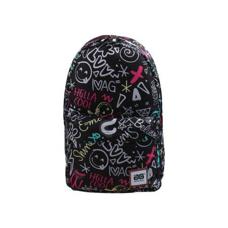 Aftergen  Back to School Black Super Cool (Best Picnic Time Cool Backpacks)