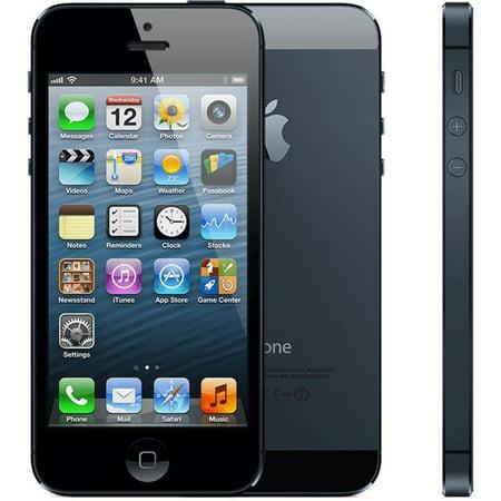 Refurbished Apple iPhone 5 16GB, Black - Locked AT&T ()