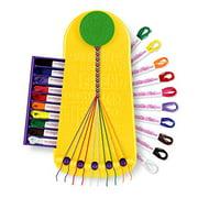 Choose Friendship My Friendship Bracelet Maker Kit, Kids Jewelry Kit, Bracelet Craft Kit Jewelry Making Bracelet Kit, Travel Edition Yellow