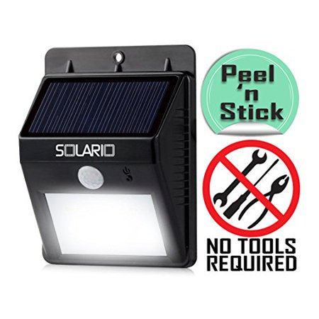 Wireless Outdoor Flood Lights Solario bright solar powered wireless outdoor led security solario bright solar powered wireless outdoor led security floodlights 80 lumen no tools required workwithnaturefo