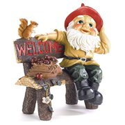 summerfield terrace 39265 garden gnome greeting sign, multicolor