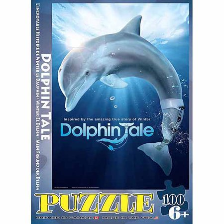 EuroGraphics Dolphin Tale 100-Piece Puzzle
