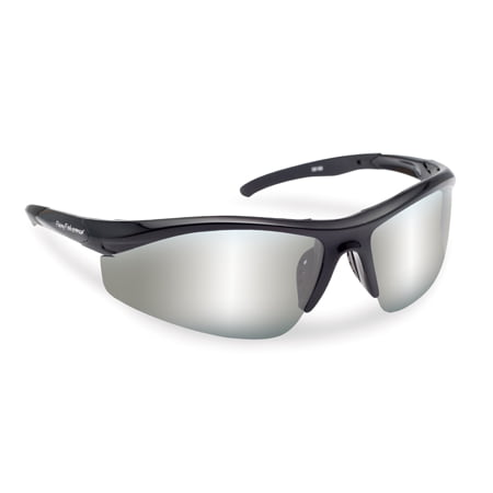 Fly Fish Sunglasses Spector Black Frame Smoke/ Silver (Black Flys Sunglasses Amazon)