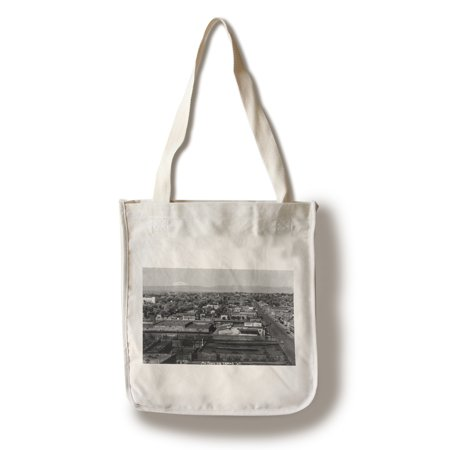 Party City Yakima (Yakima, Washington - Aerial View of the City (100% Cotton Tote Bag -)