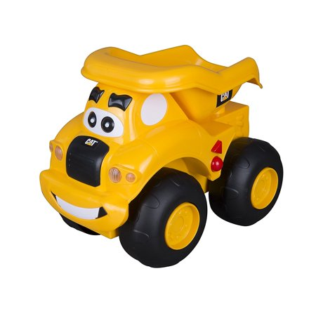 Move Vehicle - Toy State Caterpillar CAT Buildin' Crew Move & Groove Machines Haulin' Harry Dump Truck Light & Sound Vehicle