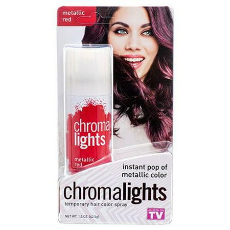 Temporary Hair Color Spray Red by Chroma Lights - image 1 de 1
