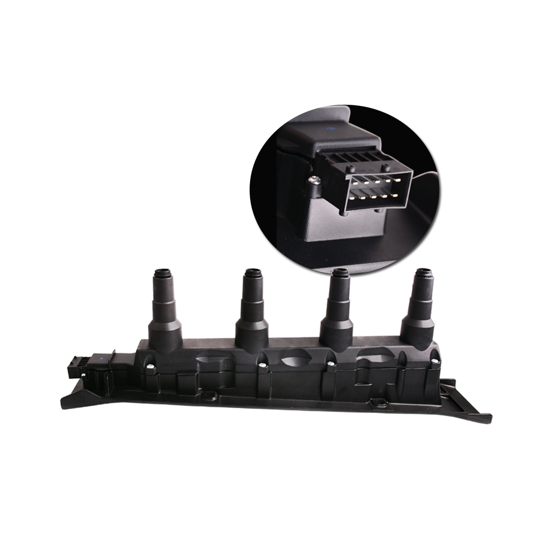 YITAMOTOR Direct Ignition Coil Cassette Pack Black NEW for Saab 9-3 9-5 Turbo 4 Cyl UF577