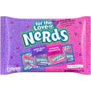 Wonka Nerds, Gotta-Have Grape & Seriously Strawberry Tangy Crunchy Candy, 12 Oz