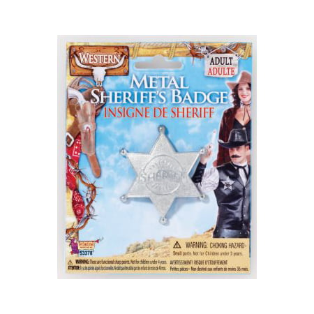 Sherriff Badge (METAL SHERIFF BADGE)