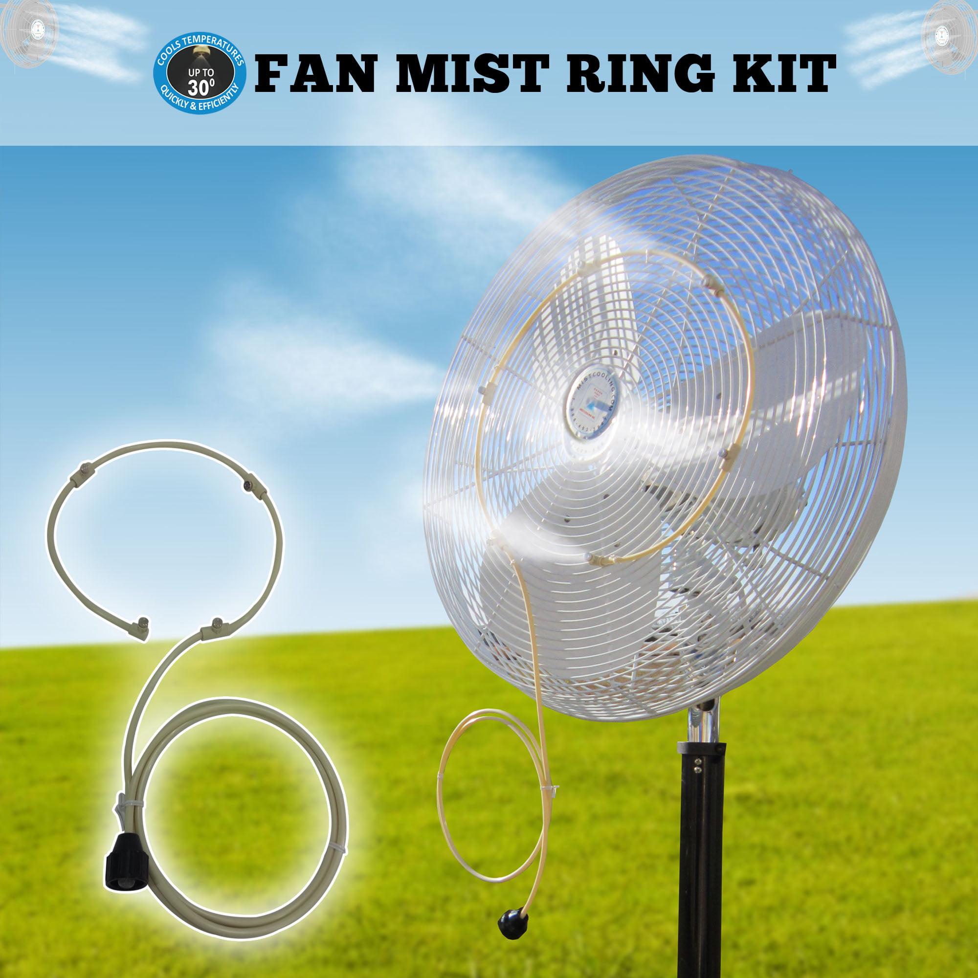 Misting Fan Kit for low pressure fan misting