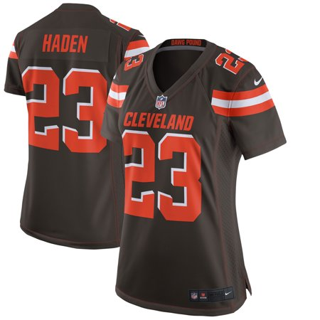 competitive price 78e11 dfb46 Joe Haden Cleveland Browns Nike Women's Game Jersey - Brown ...