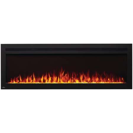 Napoleon NEFL60HI Purview 60 Inch Linear Electric Wall Mount Fireplace w/ Remote Napoleon Torch Gas Fireplace