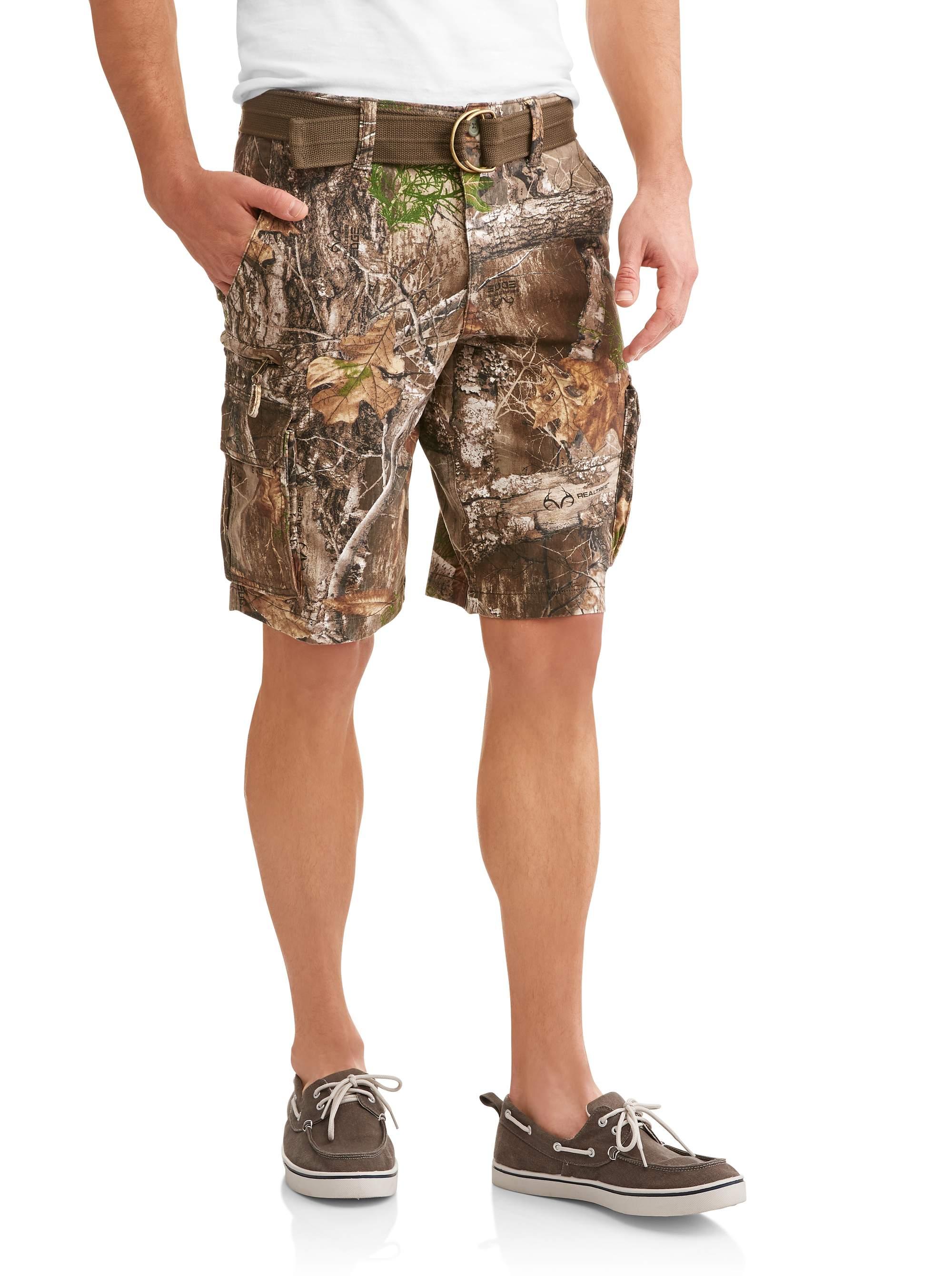 Big Men's Stacked Cargo Shorts