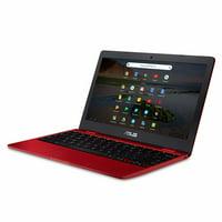 ASUS Chromebook Laptop 12, Intel Celeron, 32GB Flash Storage, 8GB RAM, C223NA-DH02-RD