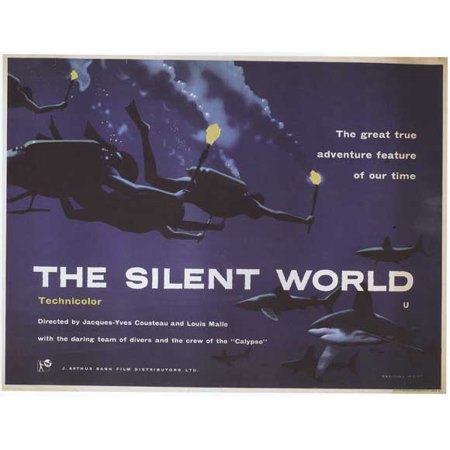 The Silent World (1956) 27x40 Movie Poster