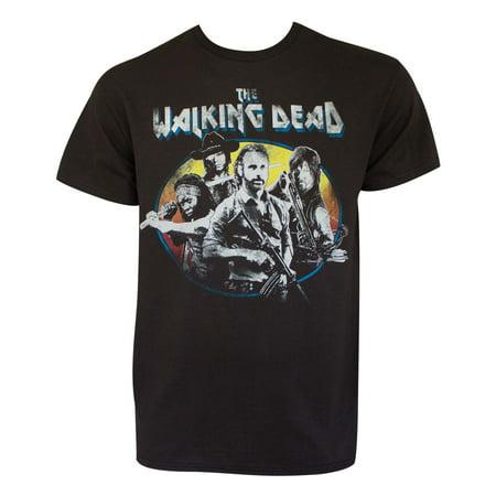 Walking Dead Vintage Black Tee Shirt