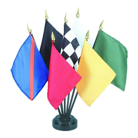 F1 Racing Flags (Official Auto Racing Flag Set)