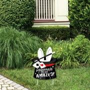 Ta-Da, Magic Show - Outdoor Lawn Sign - Magical Birthday Party Yard Sign - 1 Piece