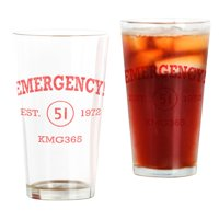 CafePress - EMERGENCY! Squad 51 Vintage - Pint Glass, Drinking Glass, 16 oz. CafePress