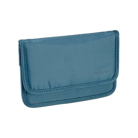 Travelon - Safe ID Medium Pouch - Teal - image 2 of 2