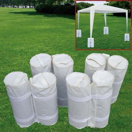 4 PCS outdoor CANOPY TENT WEIGHT SAND BAG ANCHOR KIT ()