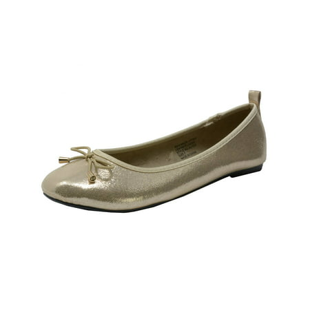 Alpine Swiss Aster Womens Comfort Ballet Flats Faux Leather Slip On - White Leather Ballet Flats