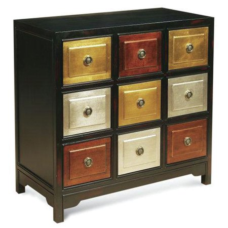 Just Cabinets Furniture And More Metallic Cubes 9 Drawer