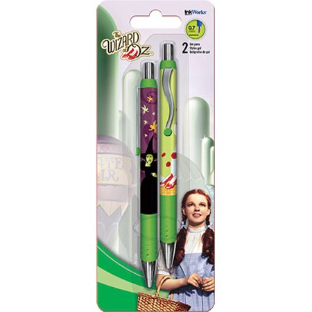 Gel Pen Wizard Of Oz 2pk New Toys Gifts Stationery Iw0038