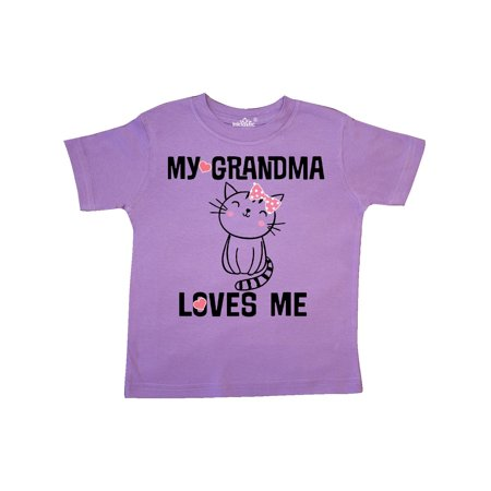 My Grandma Loves Me Girls Kitty Toddler T-Shirt - Is Hello Kitty A Girl