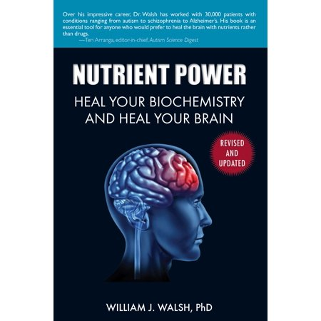 Nutrient Power : Heal Your Biochemistry and Heal Your - Nutrients Brain Function
