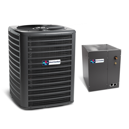Direct Comfort 4 Ton 16 SEER 2 STAGE AC R410A Air Conditioner and Coil (Cost To Replace 5 Ton Air Conditioner)