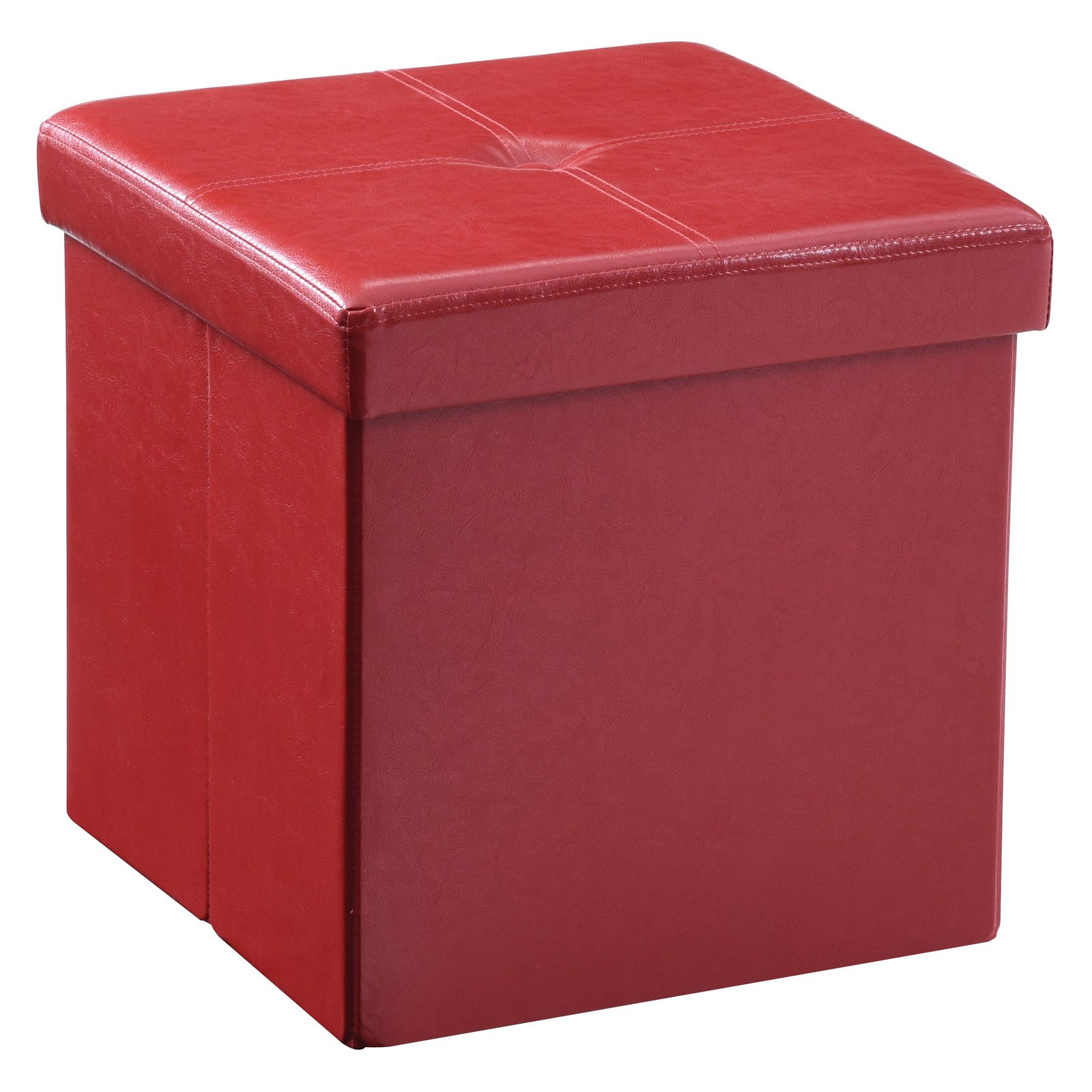 Hodedah Imports Cube Storage Ottoman