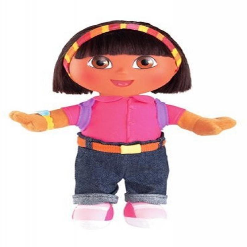 "Everyday Dora Doll: 8"" School Day Dora by Fisher Price by Fisher-Price"