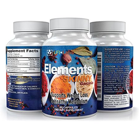 Lfi Elements Skinny   Block New Fat  Burn Existing Fat  And Suppress Your Appetite To Maximize Your Weight Loss