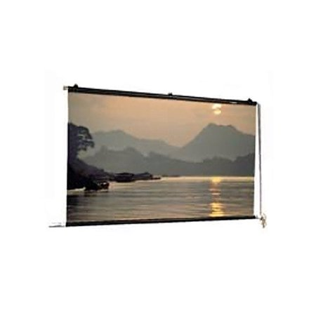 Da-Lite Motorized Scenic Roller Matte White 30'' H x 30'' W Manual Projection Screen by