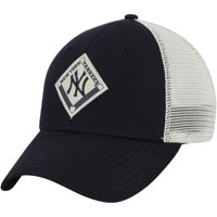New York Yankees Ground Rule Snapback Adjustable Hat - Navy/White - OSFA