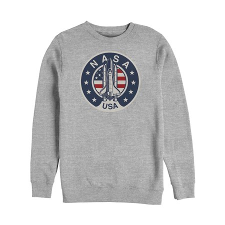 Fifth Sun - NASA Men's Patriotic USA Rocket Logo Sweatshirt - Walmart.com