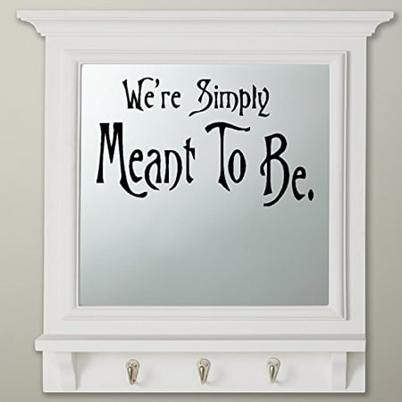 We're Simply Meant to Be #1: Nightmare before Christmas Theme ~ Wall or Window Decal 13