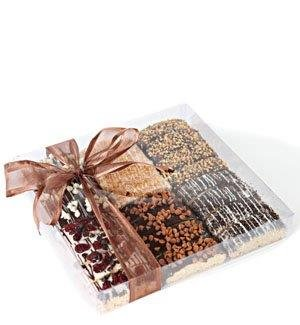 Barnetts Biscotti Cookies Gift Basket   Gourmet Food Italian Chocolate Biscotti   Unique... by