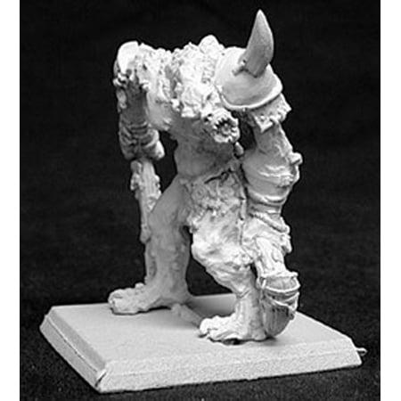 Reaper Miniatures Uru, River Troll Chief #14044 Reptus Unpainted RPG Mini Figure
