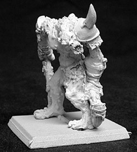 Reaper Miniatures Uru, River Troll Chief #14044 Reptus Unpainted RPG Mini Figure