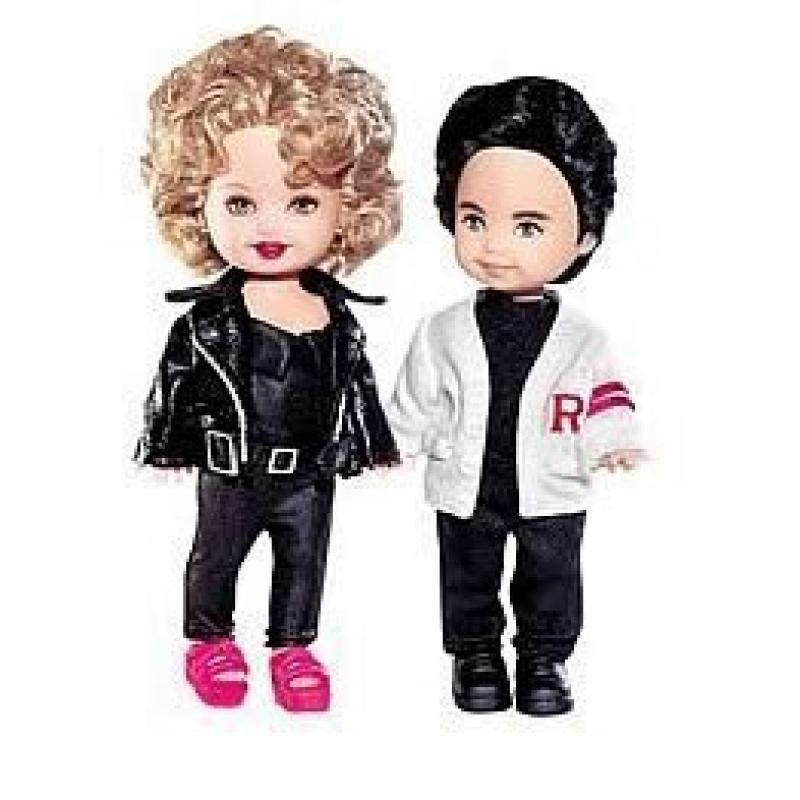 Grease, Sandy and Danny Collector Barbie Dolls