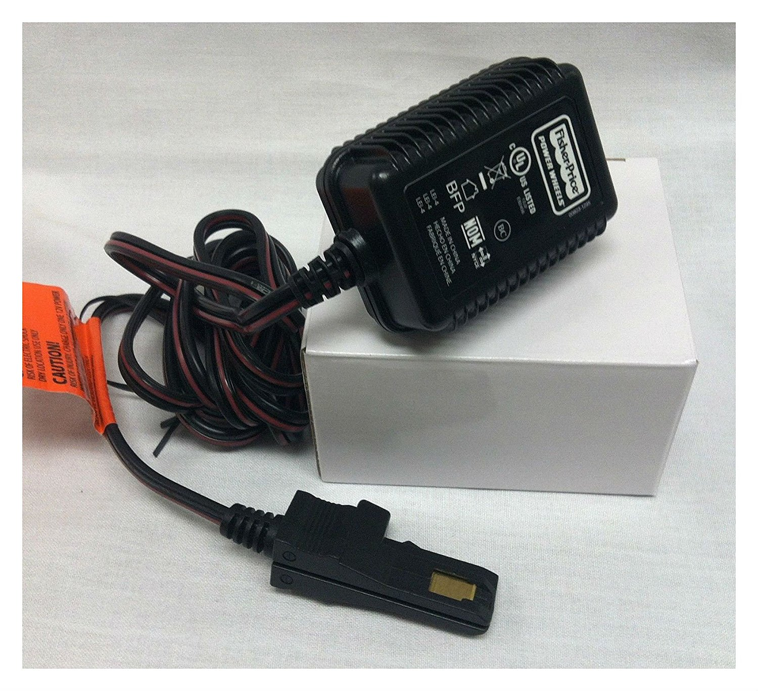 Fisher Price 12 Volt 12v Gray Battery Charger For 00801-0...