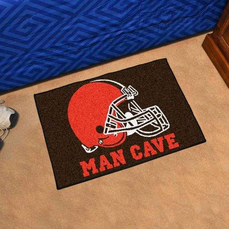 NFL - Cleveland Browns Man Cave Starter Rug 19