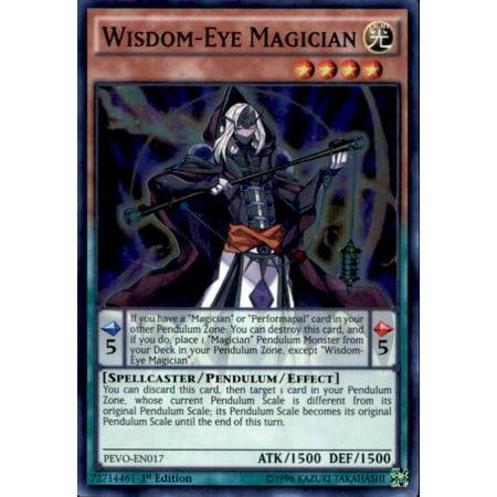 YuGiOh Pendulum Evolution Wisdom-Eye Magician