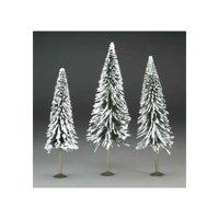 "32202 SS 8-10"" Pine Trees w/Snow (3) O Multi-Colored"